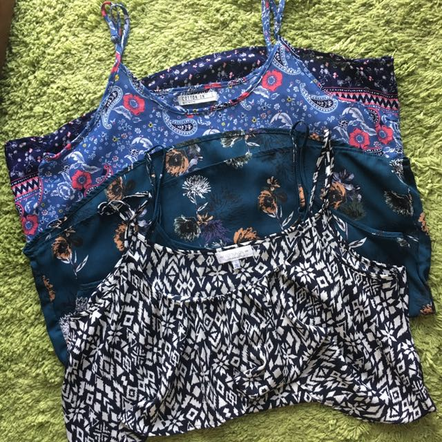 Cotton On Tops (3 For Php550)