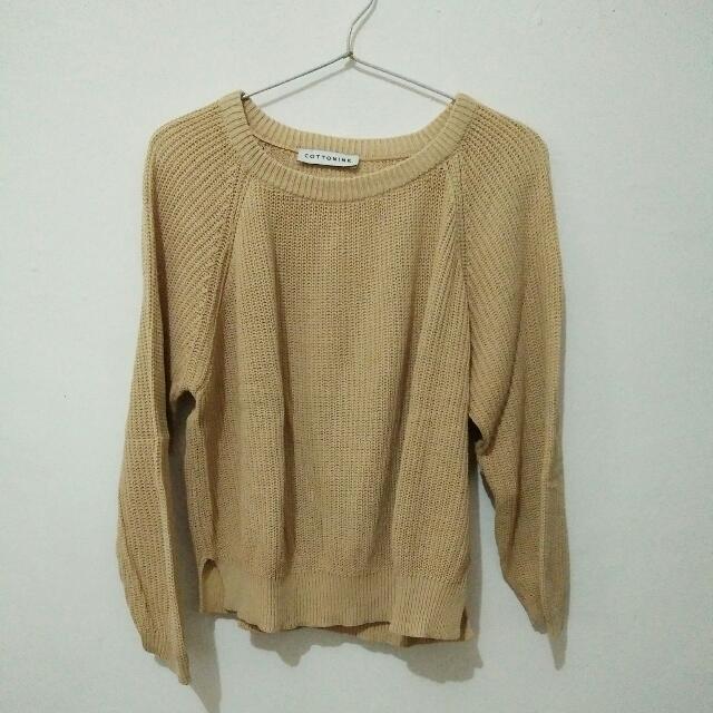 cottonink sweater