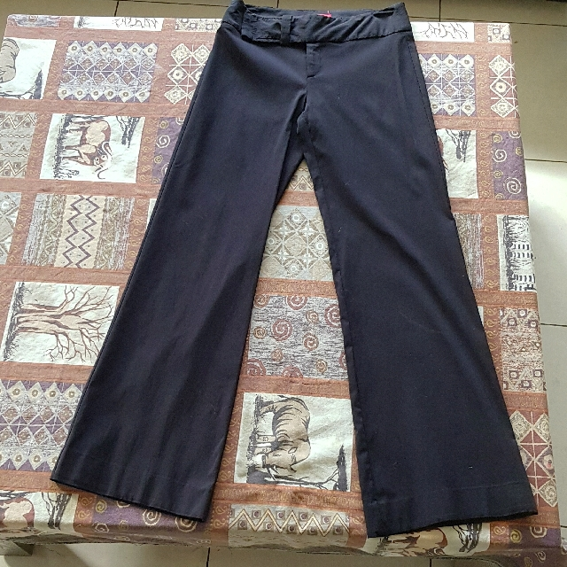 Cue Black Pants Size 8