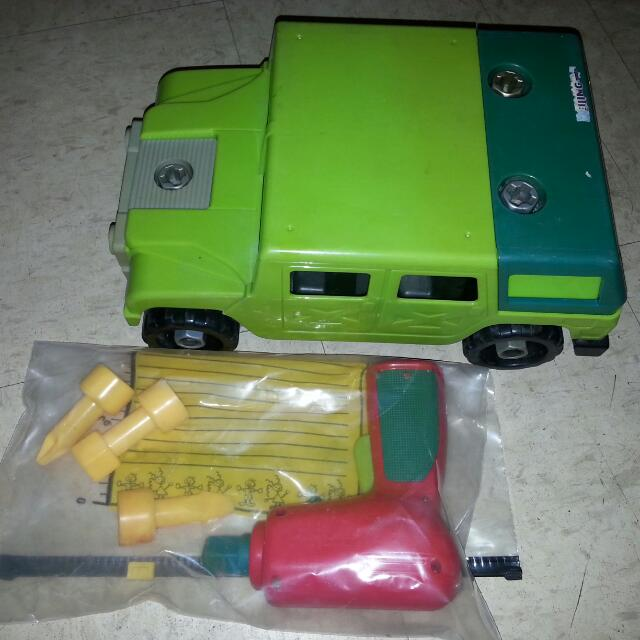 Detachable Parts Toy Car