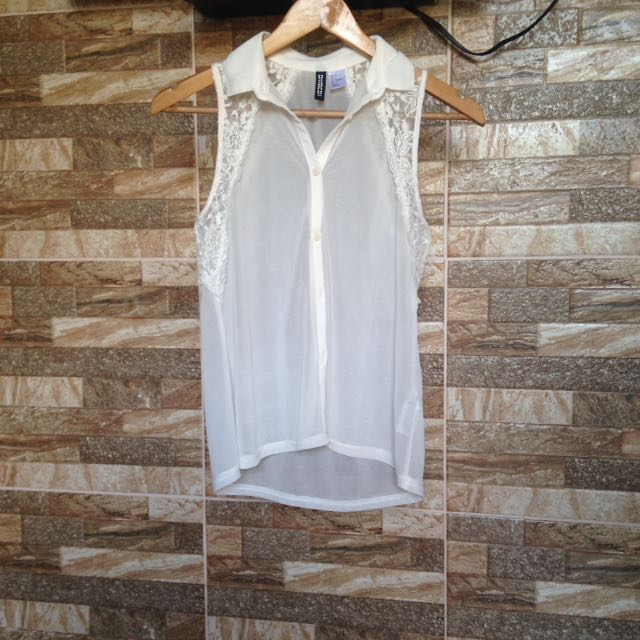 Divided By H&M Lace Sleeveless