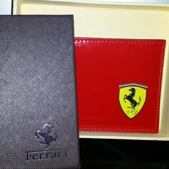 Dompet Merah Ferrari