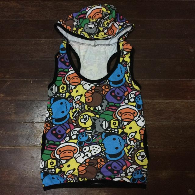Doodle Hooded Top