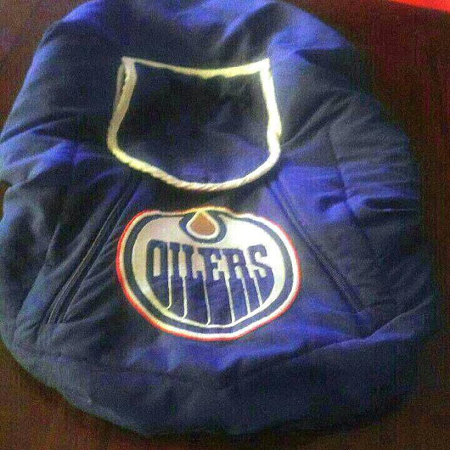 Edmonton oilers baby car Seat Cover