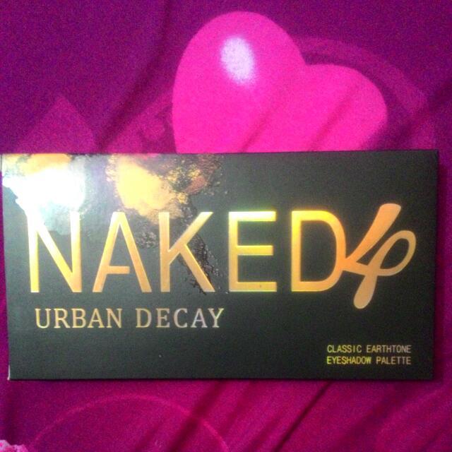 Eyeshadow Pallete Naked 4