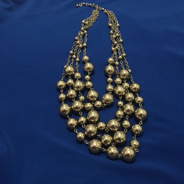 Faux Gold Necklace (Repriced)