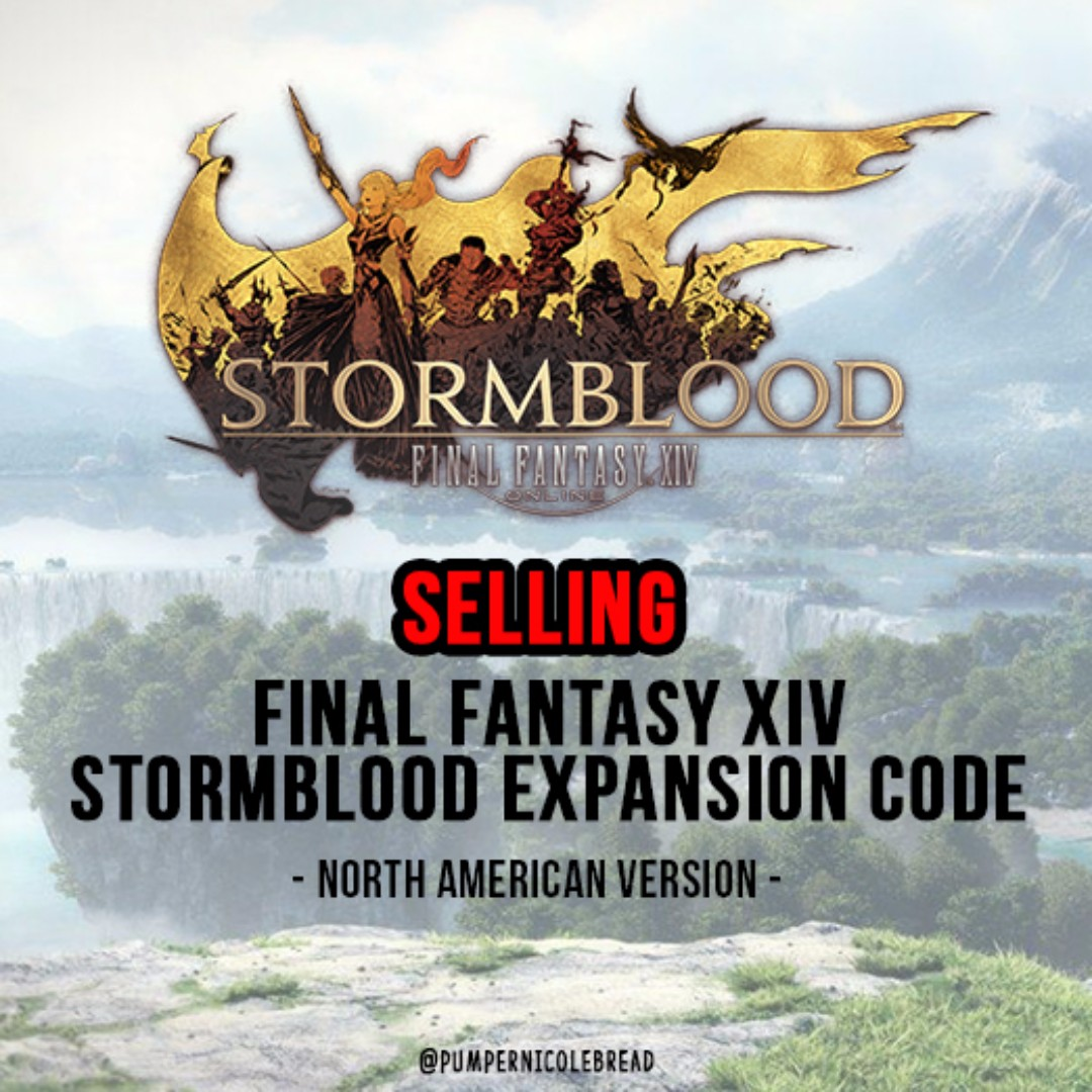 🎮 FINAL FANTASY XIV STORMBLOOD DIGITAL CODE (NA) 🎮