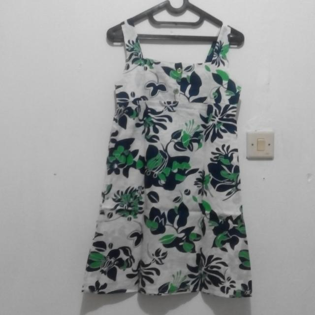 Floral Beach Summer Mini Dress