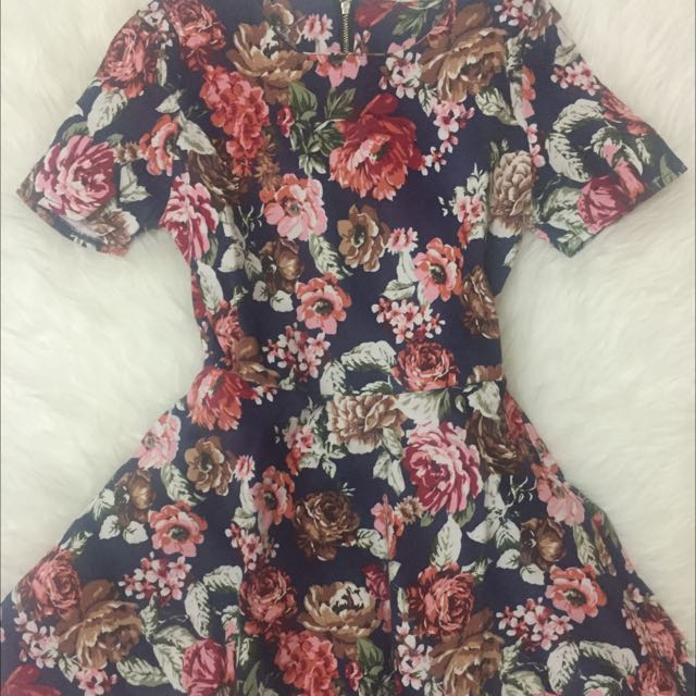 Floral Colorful Dress