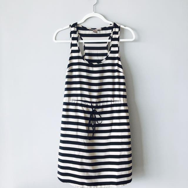 Forever21 Stripe Sleeveless Dress