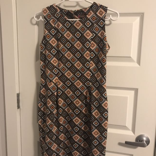 Formal Printed Dress