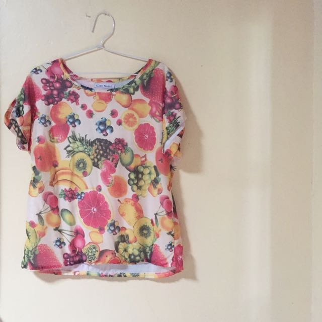 fruit blouse
