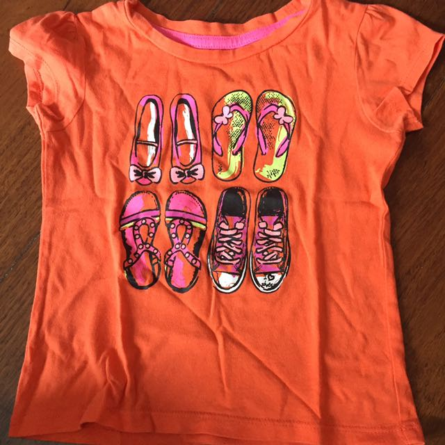 George Orange Shirt