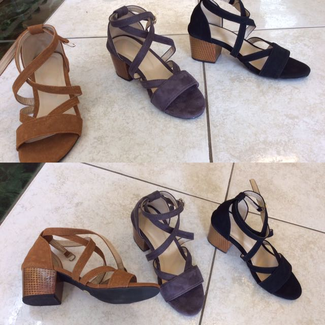 Georgia BlockHeels Sandals