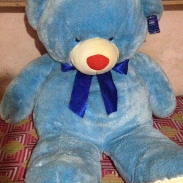 Giant Teddy Bear (Blue Magic)