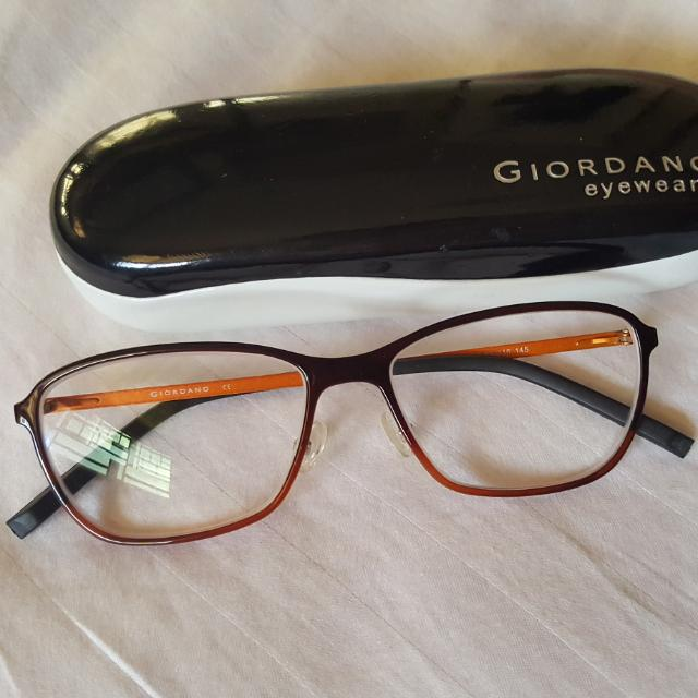 Giordano Eyeglasses, Preloved Women\'s Fashion, Accessories on Carousell