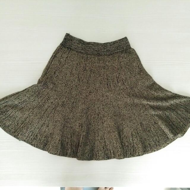 Gold Skirt/rok High Quality
