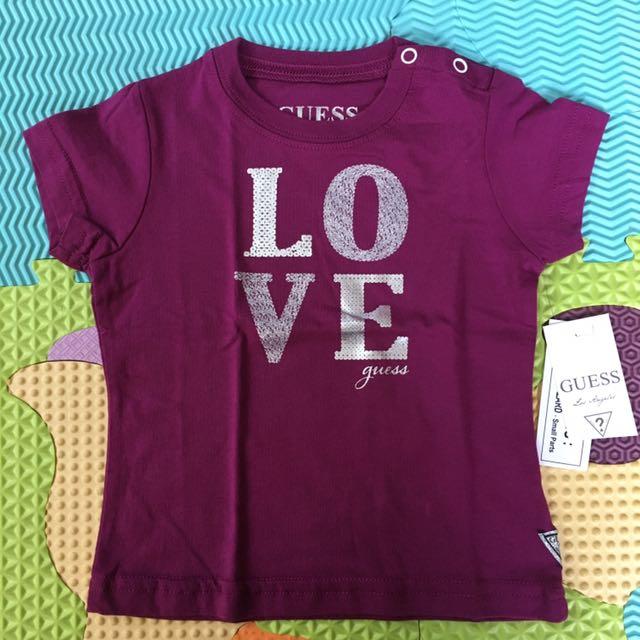 Guess Magenta Baby Girl Shirt