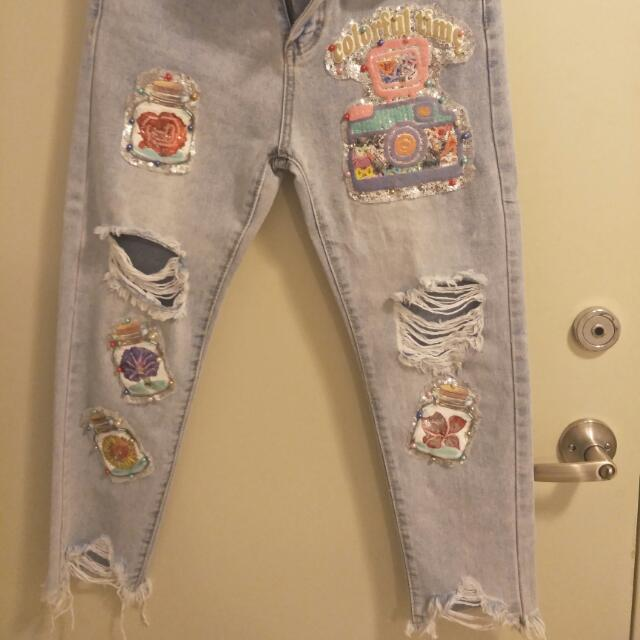 Hand Made Jean Size S