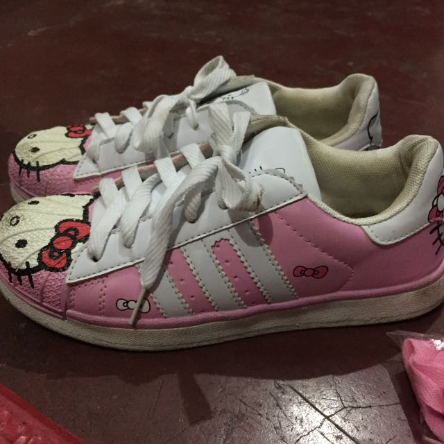 Hello Kitty Adidas Shoes