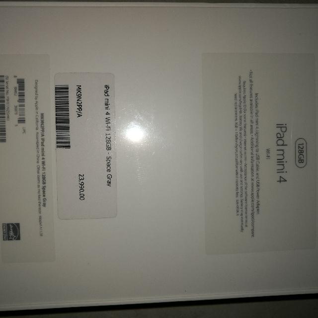 iPad mini 4 128 gb (WiFi)