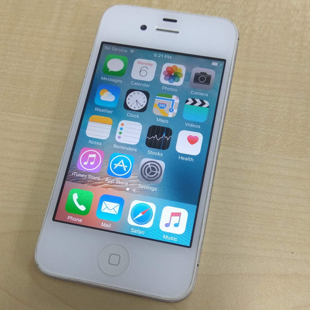 Iphone 4s 16gb White Mobile Phones Tablets Others On Nok Handphone Carousell