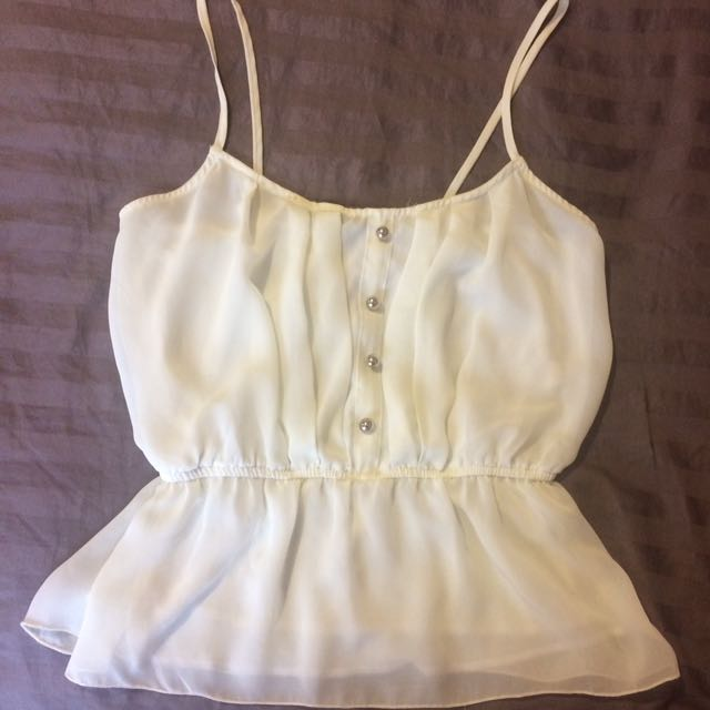 Ivory Cami From Costa Blanca Collection