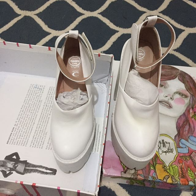 Jeffrey Campbell Scully White Size 7 (37)