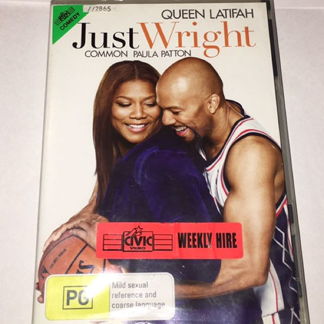 Just Right Movie CD