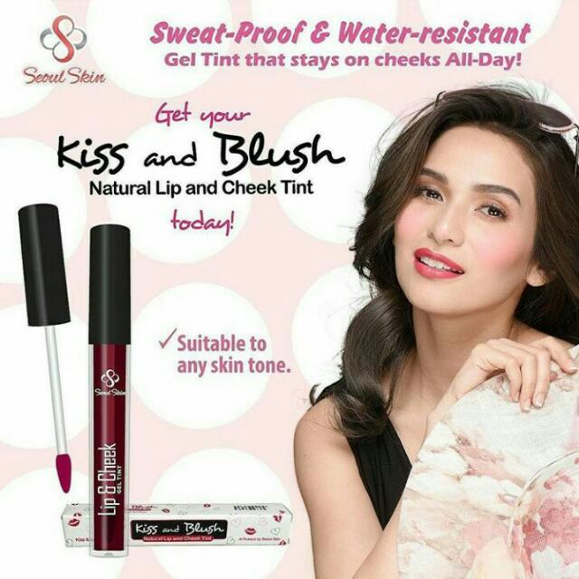 kiss and blush by seoul skin korea