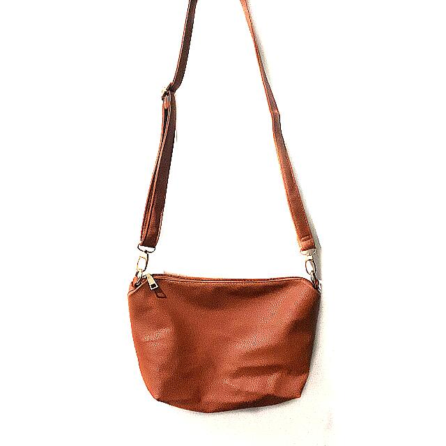 Light Brown Sling Bag
