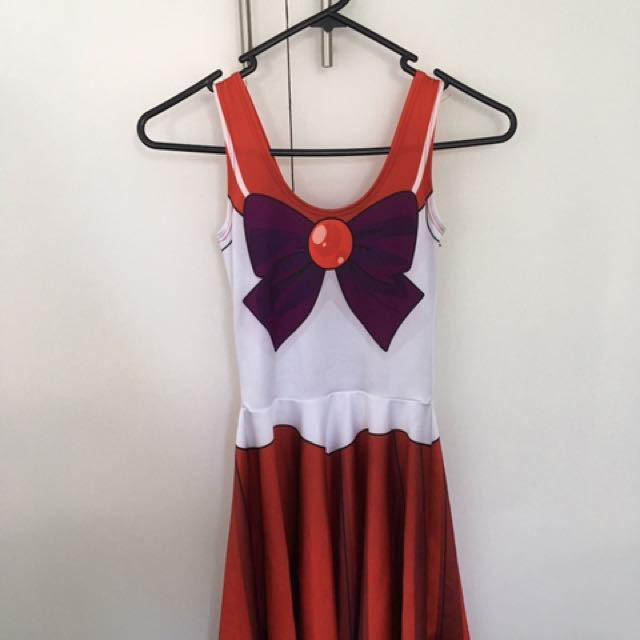 Living Dead Sailor Mars Skater Dress