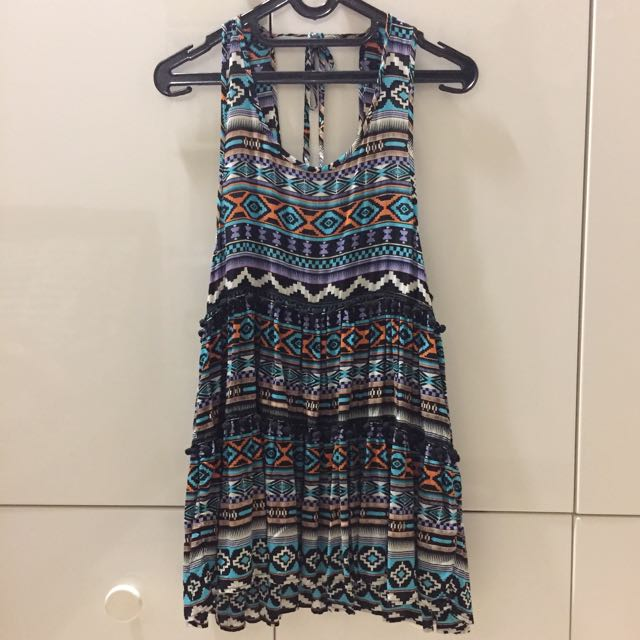 Love & Lies Patterned Dress