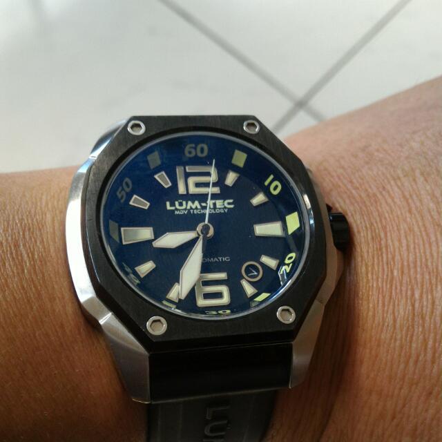 Lum-Tec 自動上鍊機械錶