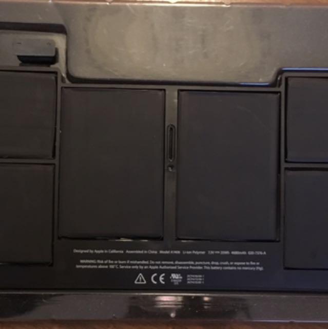 """macbook air 11"""" battery"""