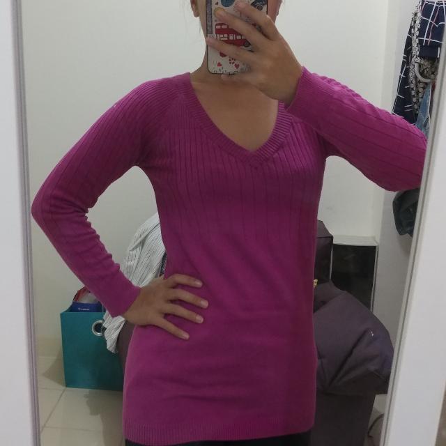 Mango Purple Sweater