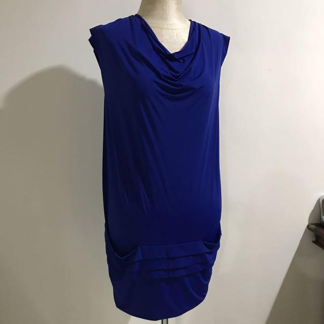 Max & Co draped shift dress
