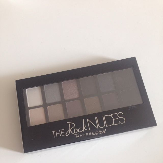 Maybelline The ROCK NUDES pallete