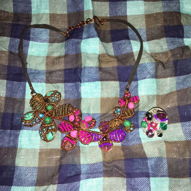 NECKLACE & RING SET