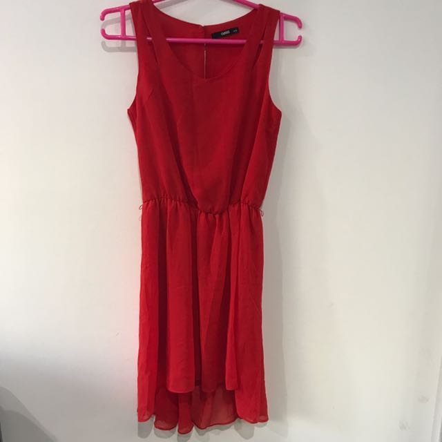 Never Worn OASIS Red Dress UK6