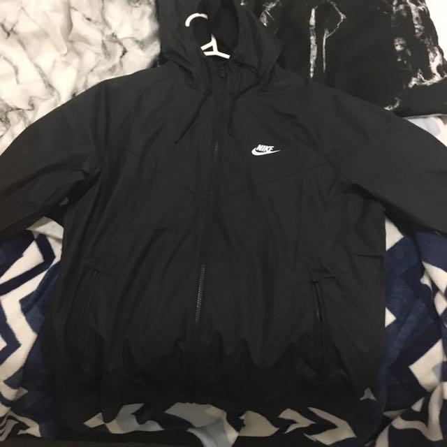 Nike Black Spray Jacket New