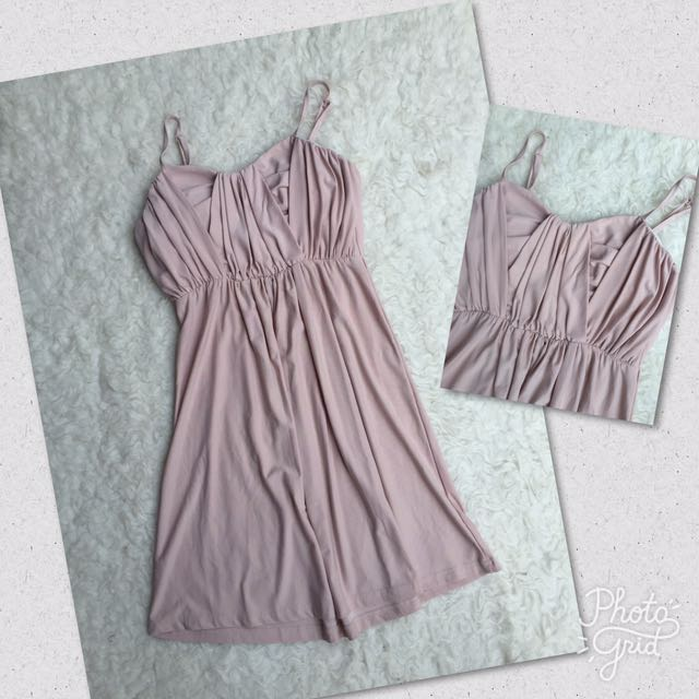 Nude Simple Dress