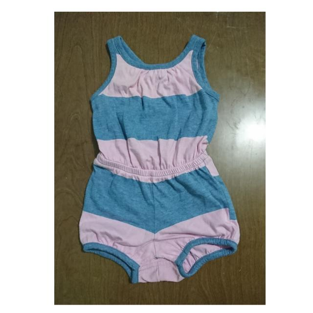 Old Navy Pink and Blue Romper