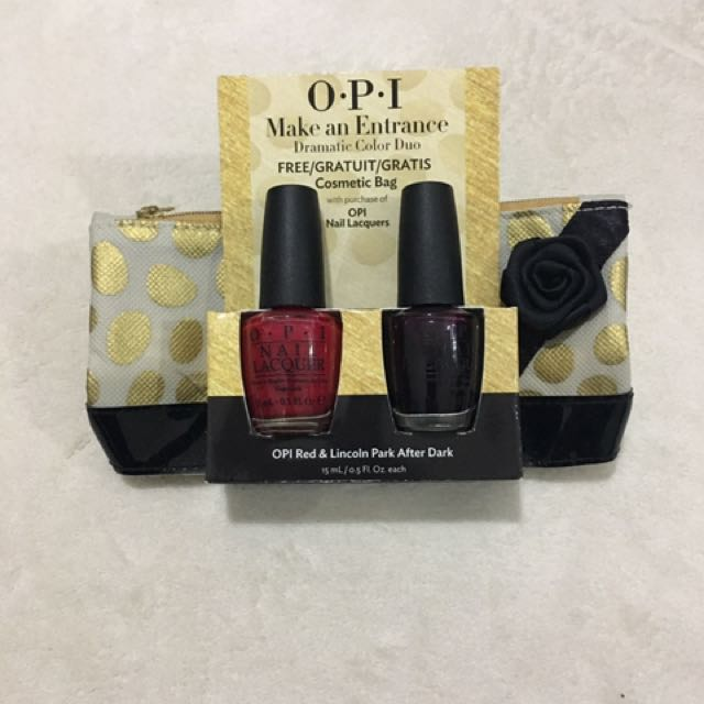 Opi Nail Polish Gift Set Health Beauty Nail Care
