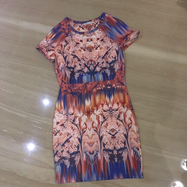 Original Zara Sakura Dress