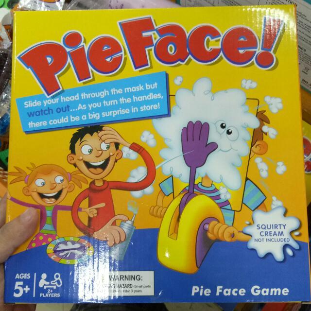 Pie Face Challenge