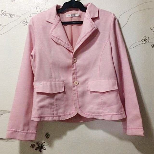 Pink Blazer / Office blazer / coat / Blazer