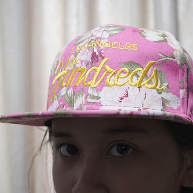 Pink Floral Summer Snapback