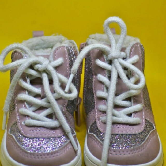 Pink Lined Trainers Girl Shoes H&M