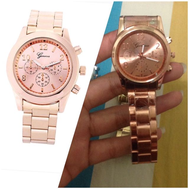 PINK stainless steel watch (jam tangan wanita)